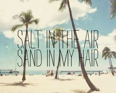 i love the beach :)