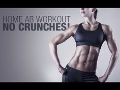 Standing Abs Workout for Women (NO CRUNCHES, NO PLANKS!!) - YouTube