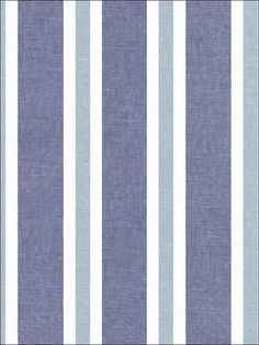 Blue Yacht Stripe Wallpaper- (playroom above wainscoting) $33.99 per roll