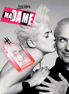 Androgynous Perfume Model for Jean Paul Gaultier  perfume.org