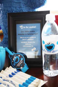 Cookie Monster Party Theme LOVE THIS! From Kayden Ashley