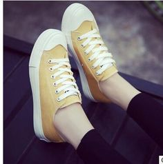 Women 2017 New College White Canvas Shoes Female Spring Summer Korean Small White  Low Help Board Shoes Casual Student Shoes