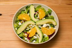 Burgers, Bowls, Salads, Smoothies, Shakes and Kids Meals inspired by the seasons with only clean ingredients. Avocado Salad, Cobb Salad, Healthy Dinner Options, Orange Salad, Orange Recipes, How To Make Salad, Fennel, Lettuce, Kids Meals