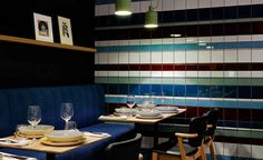 If you're struck by déjà vu whilst lounging in Wrocław's newest bistro, it might be due to the fact that local designers BUCK.Studio were inspired by the colourful tiles that are such an evocative feature of western Poland's largest city, on old stairc...