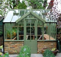 dormer style greenhouse