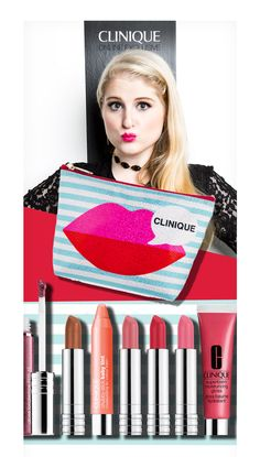 Meghan Trainor for Clinique! She would be such a great role model for young girls!