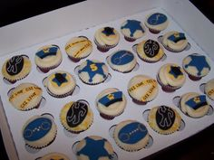 County CA Wedding / Large Event Cupcakes Police Officer