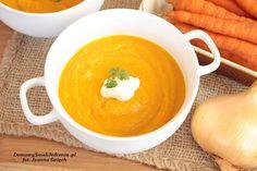 domowa zupa krem z marchewki | Domowy Smak Jedzenia .pl