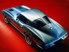 1963 Split Window Corvette - one of the sexiest cars ever made, hands down.
