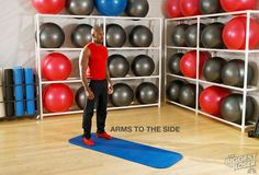 Step 11: Arms to the side. #DolvettsBurpee #BiggestLoser