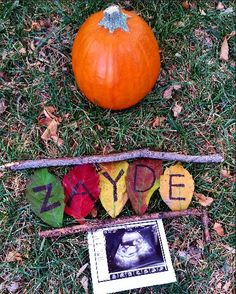 Our name reveal  #babynames #namereveal #genderidea #fall gender                                                                                                                                                     More