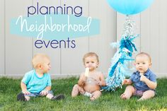 how to host a great neighborhood party (and a couple of ideas)