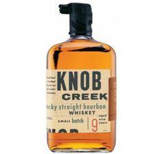 Knob Creek 9 Years Straight Bourbon Whiskey