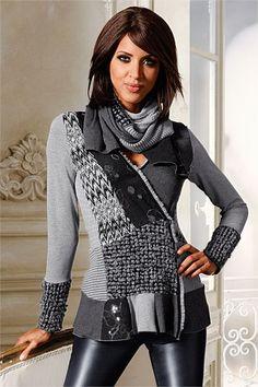 Women's Tops - Heine Wrap Cardigan    different but nice looking