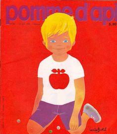Vintage Pomme d'api French children's magazine  Ms. Sunshine via Isabell onto A apple a day