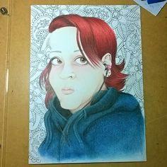 Trabalho em conjunto com o caricaturista @fabio_Drawing Desenho - FH Arts /cores…