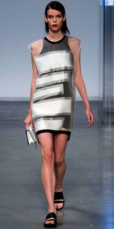 Helmut Lang - Runway Looks We Love: Helmut Lang - Fashion Week Spring 2014 - Fashion - InStyle