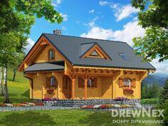 Mazurek IX z dobudówką - Domki ogrodowe - DREWNEX Types Of Doors, Wooden Doors, Home Fashion, Bali, House Styles, Home Decor, Homes, Decoration Home, Room Decor