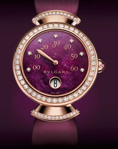 BVLGARI is famous for its glamorous gemstone jewelry, luxury watches, perfumes and leather goods. Cheap Watches For Men, Cool Watches, Ladies Watches, Women's Watches, Bvlgari Watches, Luxury Watches, Italian Jewelry, G Shock, Beautiful Watches