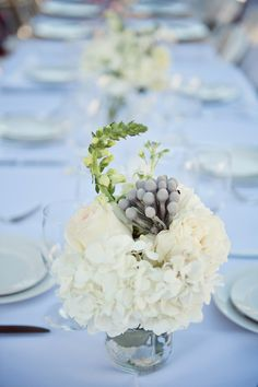 (Event Production by Hand Made Events Photography by Claire Barrett Photography) #popupcharleston #handmadeevents #popupdinners #tablesetting #whiteflowers