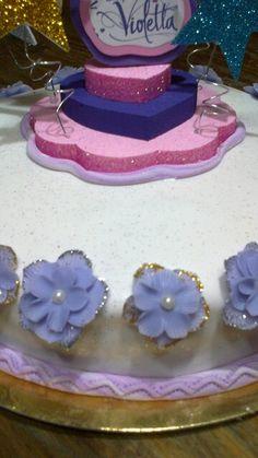 Detalle torta Violetta