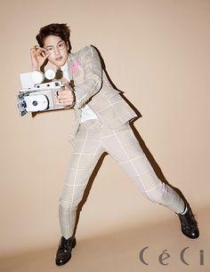 Kwak Si Yang - Ceci Magazine March Issue '15