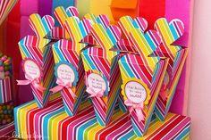 Lollipop Sweets Party Favors #lollipop #partyfavors