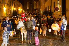 Laternenumzüge und Lampionfeste für Kinder