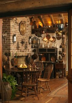 ❤️ ¿Rustic kitchen Also, kitchen. ❤️ Rustic kitchen cabinets are sometimes not made from metal. Also, it's great to have precisely what you want in your kitchen. Country Decor, Country Style, Farmhouse Style, French Country, Rustic Farmhouse, Country Blue, Rustic French, Cottage Farmhouse, Farmhouse Interior