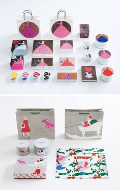 Food Packaging Design, Brand Packaging, Brand Identity Design, Graphic Design Branding, Japanese Branding, Chinese New Year Card, Gift Box Design, Japanese Graphic Design, Jewelry Packaging