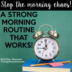 Stop The Morning Chaos: A Strong Morning Routine That Works