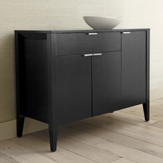 Triad Small Sideboard  | Crate and Barrel