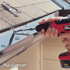 How to Fix Gutters: Seal leaky gutters and straighten sagging and bulging gutters. We'll show you how to restore good drainage and your self esteem at the same time.