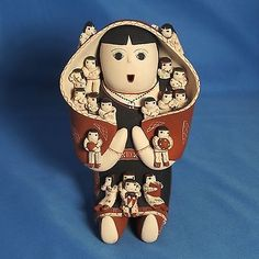COCHITI PUEBLO POTTERY STORYTELLER by VANGIE SUINA