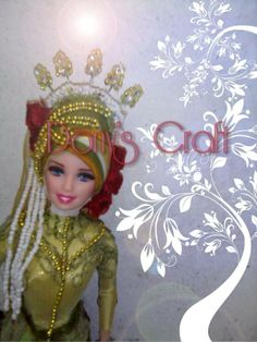 Creation Hijab Doll..  Make your Mahar beautiful #doll #likeforlike #Hijab #Mahar