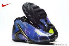 finest selection 2fa42 64875 2013 Nike Zoom Hyperflight PRM Lightning Ultraviolet Volt-Black Black  Basketball Shoes, Sports