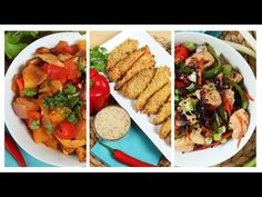 3 Healthy Chicken Recipes | Dinner Made Easy - YouTube