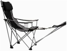 Eddie Bauer Folding Chair With Footrest Folding Chair