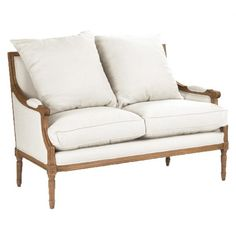 A settee is the perfect addition to your home decor. Great to seat two people and for small spaces