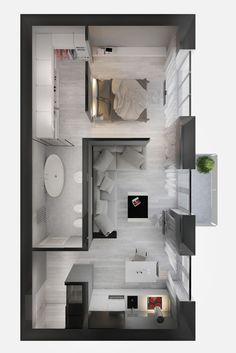 House Floor Design, Sims House Design, Small House Design, Home Room Design, Dream Home Design, Home Design Plans, Home Interior Design, Plan Design, Exterior Design