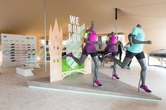 The Nike Womens London Pop-Up is Revealed Ahead of the 10-KM Race #popup trendhunter.com