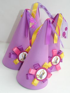 Tangled Rapunzel Princess Hats 6 by BoopteyLu on Etsy, $30.00