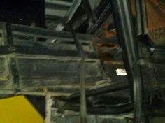 Forte colisão entre ônibus e caminhão deixa um morto e feridos presos às ferragens, na Paraíba