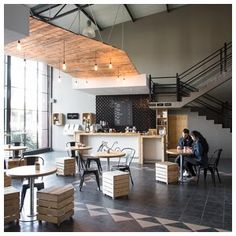 VIntage Coffee Café, Johannesburg. Coffee for a good cause. Images by Marsel Roothman