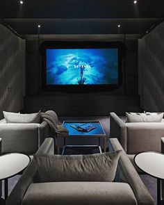 Small Home Theater contemporary media room minneapolis