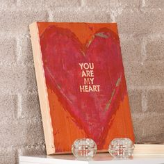 """Found it at Joss & Main - Swoon """"You Are My Heart"""" Framed Textual Art Plaque"""
