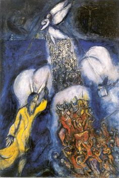 Marc Chagall's paintings are poetry through a paint brush. Description from pinterest.com. I searched for this on bing.com/images