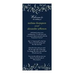 ShoppingSweet Baby's Breath Wedding Program Personalized Announcementsyou will get best price offer lowest prices or diccount coupone