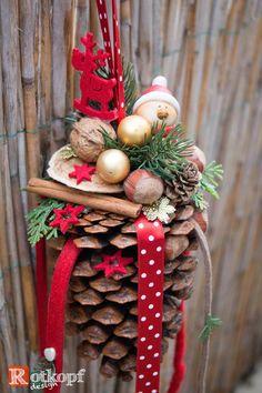 """Zapfen zum hängen """"Weihnachten"""""""