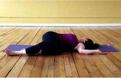 spine release yoga
